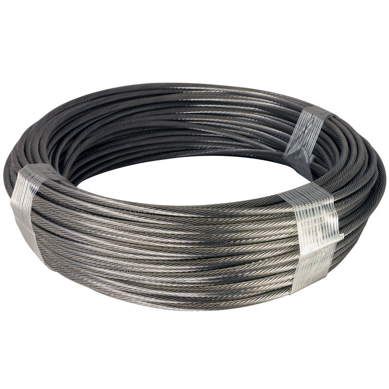 Hot Dip Galvanized Steel Cable 1x7 and 1x19 Construction