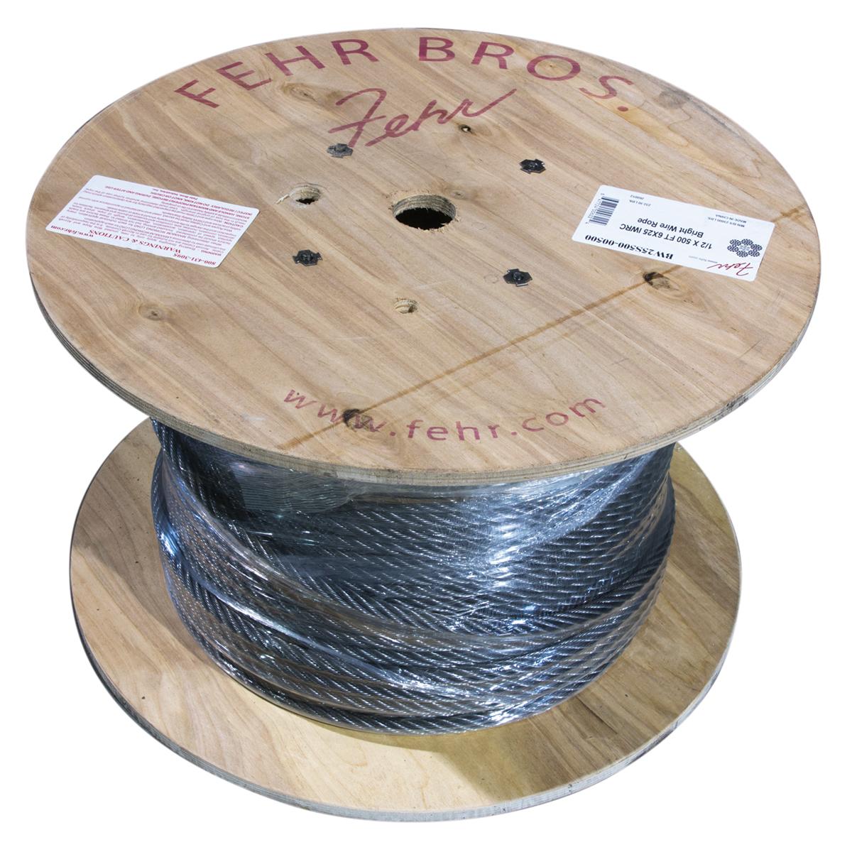IWRC Steel Core Bright Wire Rope