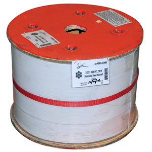3 / 32 X 5000 FT, 7X7 Stainless Steel Aircraft Cable