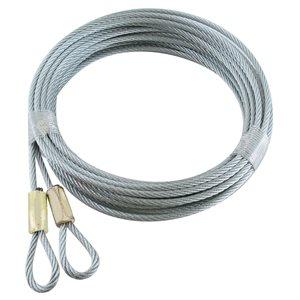 "1 / 8 X 120"" 7X7 GAC, Loop 1 End - Cable Hanger"