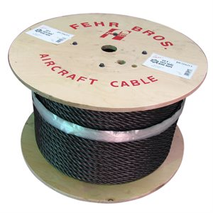 3 / 8 X 5000 FT 19X7 Non Rotating Bright Wire Rope