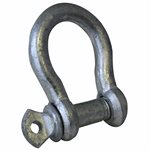 1 / 4 Commercial Grade Screw Pin Anchor Shackle, WLL 1 / 3 Ton