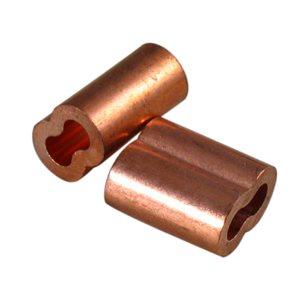 1 / 16 X 100 Pcs Copper Sleeves