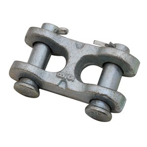 3 / 8 High Test Double Clevis