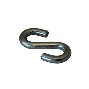 1 / 8 X1 IN S-Hook Zinc Plated