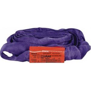 EN30 X 2 FT Purple Tuflex Polyester Roundsling