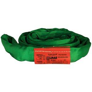 EN60 X 6 FT Green Tuflex Polyester Roundsling
