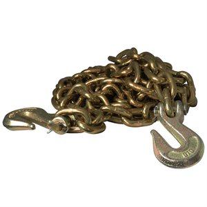 3 / 8 X 20 FT Grade 70 Alloy Binder Chain w / Grab Hooks