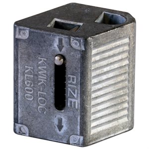 KWIK-LOC Wire Joiner, use with 1 / 4 Cable