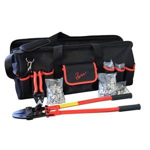 Swaging Kit w / Rigging Tool Bag - Aluminum Fittings