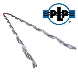 3 / 16 Galvanized PLP Tree-Grip Dead Ends (Red)