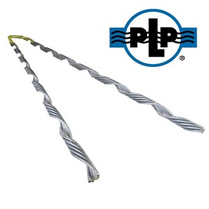 1 / 4 Galvanized PLP Big Grip Dead Ends (Yellow)