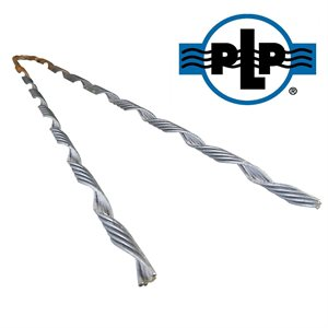 3 / 8 Galvanized PLP Big Grip Dead Ends (Orange)