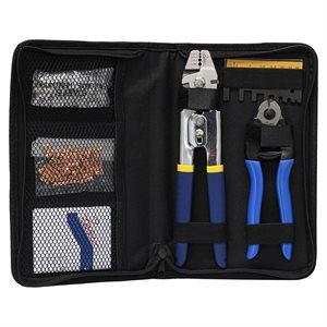Mini Hand Swaging Tool Kit