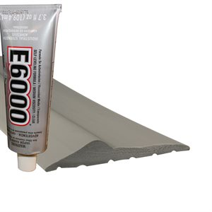 Threshold - 10' (TH300) Inc (1) 3.7 Oz Tube Adhesive - Gray